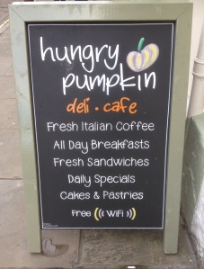 Hungry Pumpkin Chalkboard