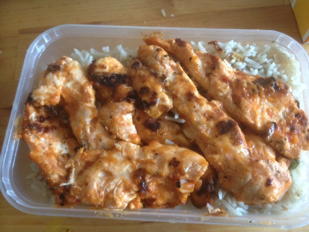 Arabian Rice and Chicken at Nevada Chicken
