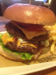 Cured in West Bridgford – Brunching on The Hot Foreigner Burger