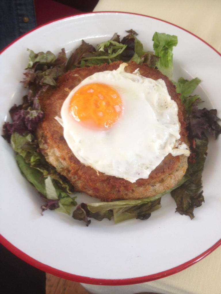 Hash Brown with Duck egg