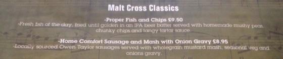 Malt Cross Classics