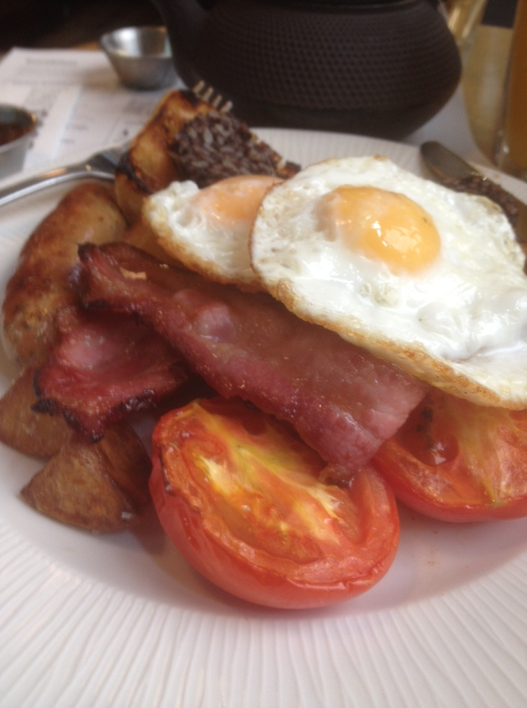 Breakfast Complete at Baresca