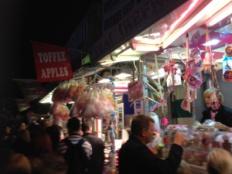 Food at Goose Fair