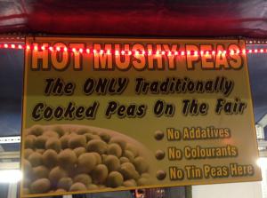 Mushy Peas Signs