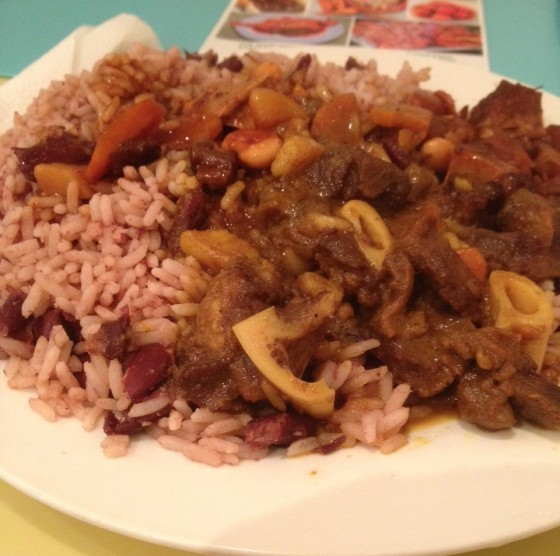 Danni's Kitchen Mutton Curry and Oxtail