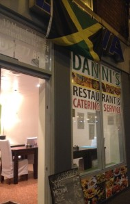 Danni's Restaurant on Mansfield Road for some Caribbean food