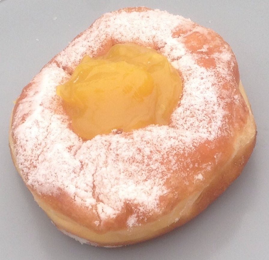 Lemon Curd Donut