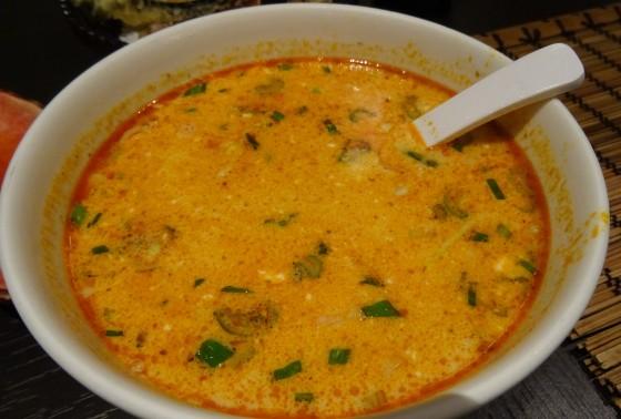 Chicken Tom Yung Soup at Bonzai