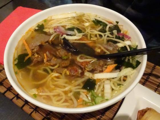 Noodles at Bonzai