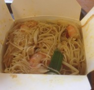 Wok and Go – A Carton of Tasty Noodles near the tram
