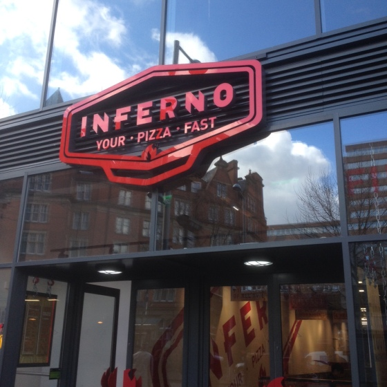 Inferno Pizza Nottingjam