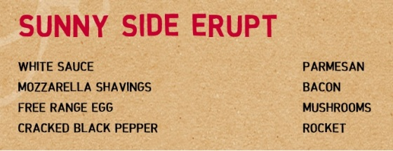 Inferno menu