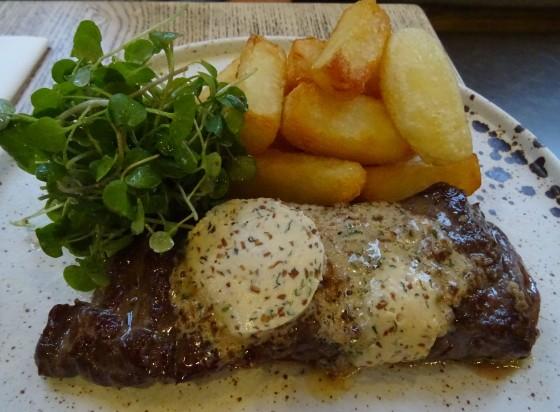 Steak at Purecraft in Nottingham