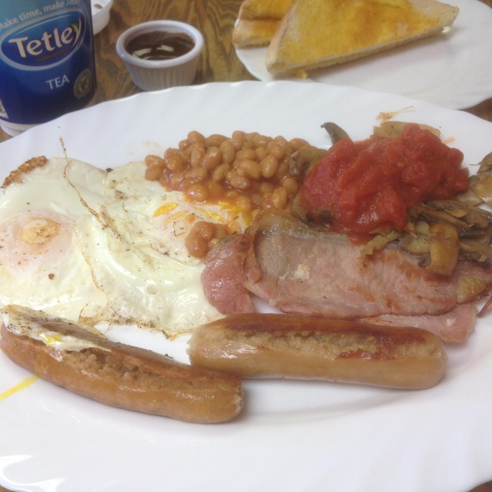 Breakfast at Wilford Lane Garage
