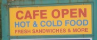 Well priced Hot and Cold food at the Wilford Lane Auto's Café – Cobs, Spuds, Toasties and Brekkie – You can't go wrong