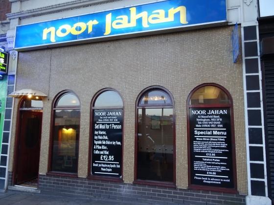 Noor Jahan on Mansfield Road