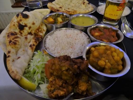 The Special Thali at Noor Jahan