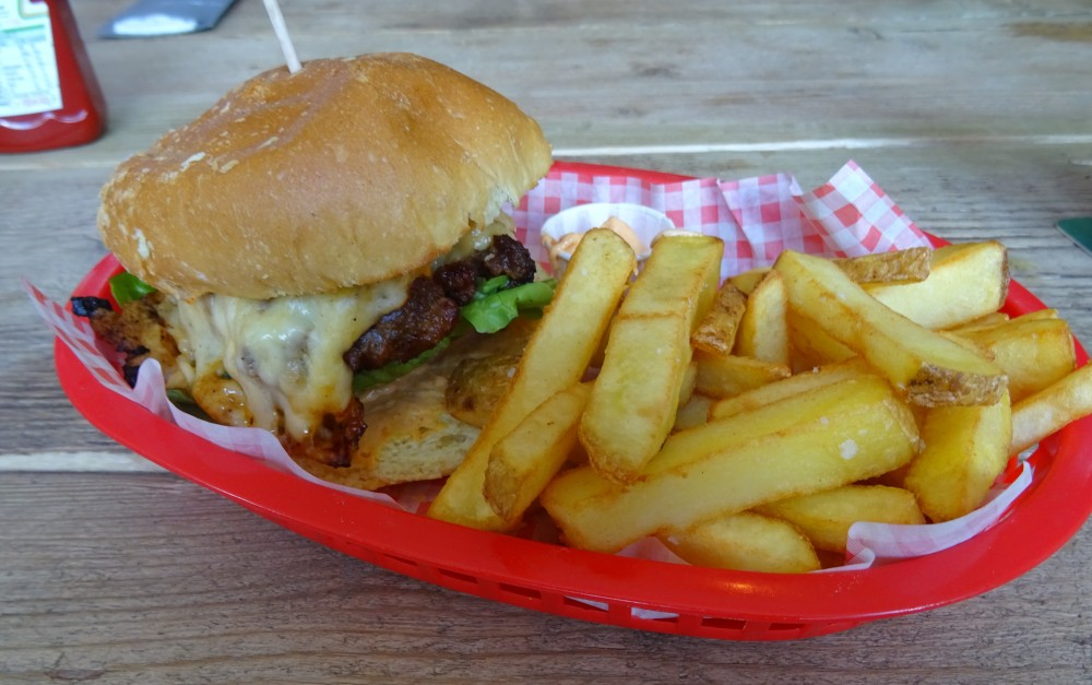 Chorizo Beefburger at Frame Breakers in Ruddington