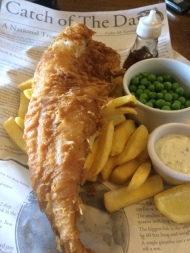 The Goose at Gamston, a surprising decent stop off in the hunt for Fish and Chips (on aFriday)
