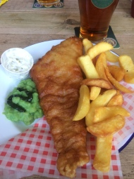 A Fish and Chip Friday at the FrameBreakers