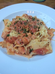Rabbit Ragu at The Lincolnshire Poacher – Excellent plate of food washed down with greatbeer