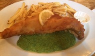 Mud Crab Pacifico in West Bridgford – 2 Course Special Lunch with Fish andChips