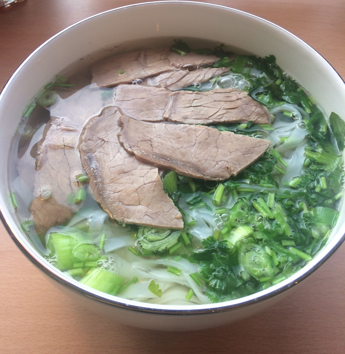Slurping Bowls of Pho at the Bun Mii Vietnamese cafe