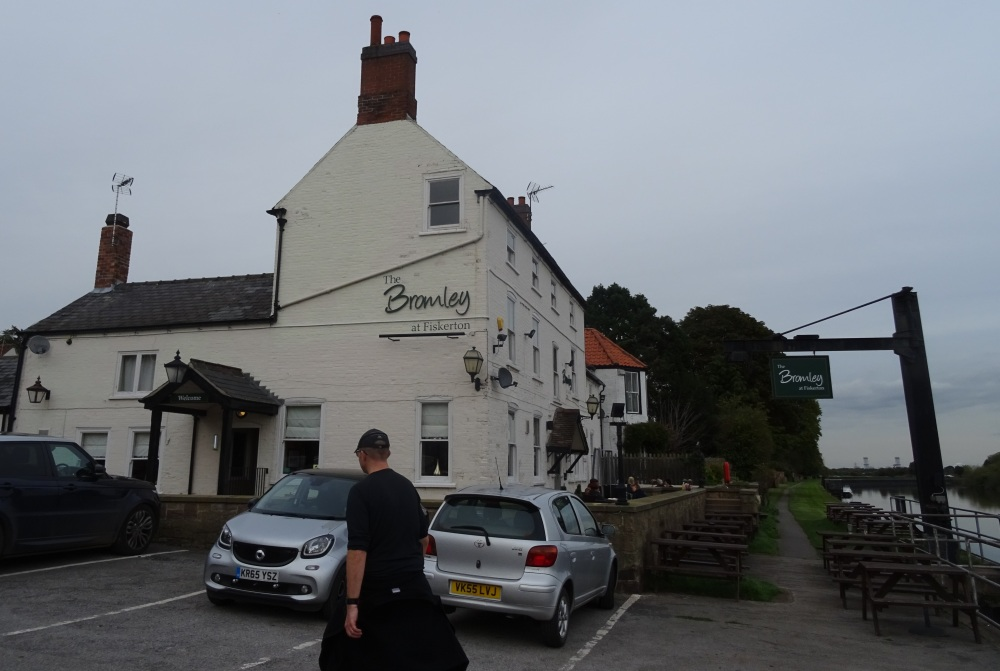 The bromley at fiskerton nice pizza and a great pub by for The bromley